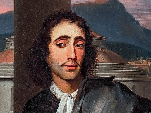 Portrait of a man thought to be Baruch de Spinoza attributed to Barend Graat